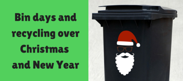 bin days and recycling over christmas and new year. Black Bedroom Furniture Sets. Home Design Ideas