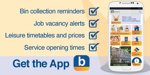 Get the Bradford Council app