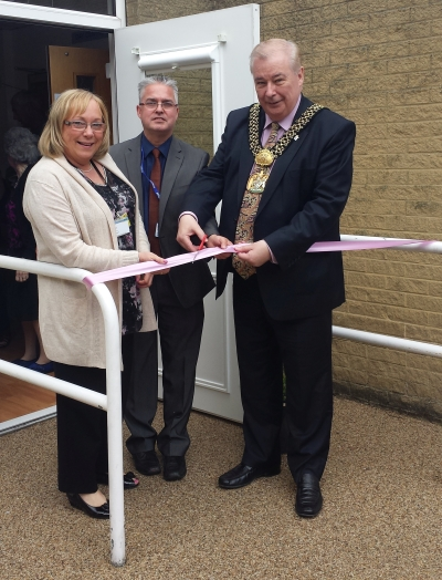 Lord Mayor opening Holmewood Resource Centre