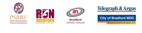 Bradford City Runs 2015 logos