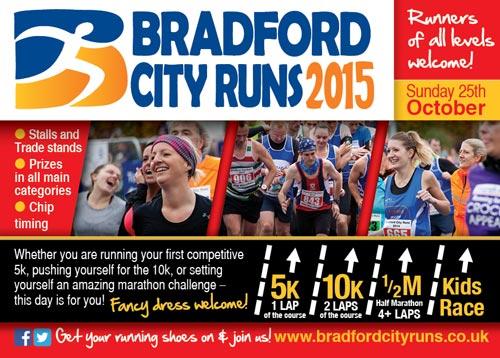 Bradford City Runs 2015