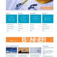 Design 5: service page (desktop)