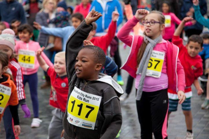 Bradford City Runs 2015 kids run