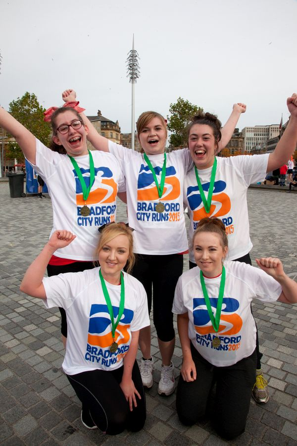 Bradford City Runs 2015 after the run