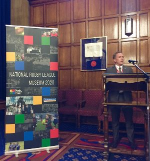 National Rugby Museum launch event