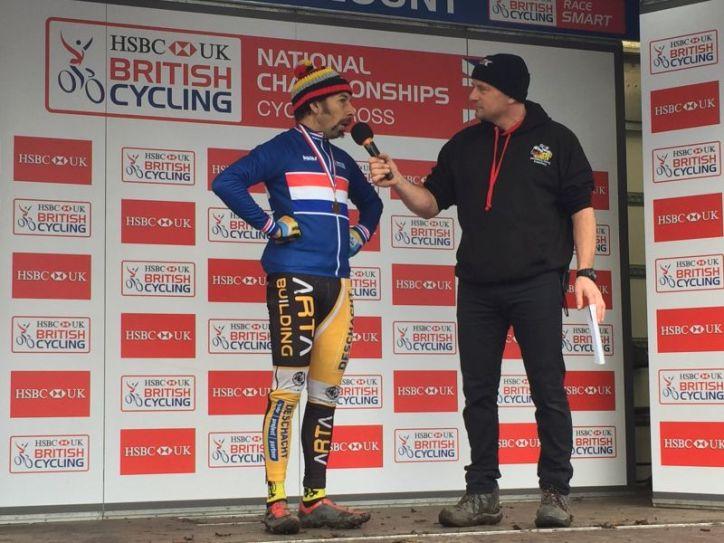 Cyclocross championships in Peel Park, Bradford