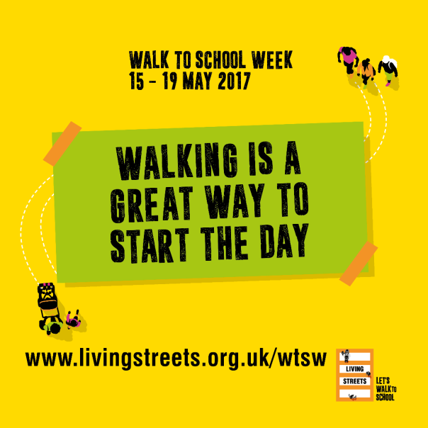 Walk To School Week 2017