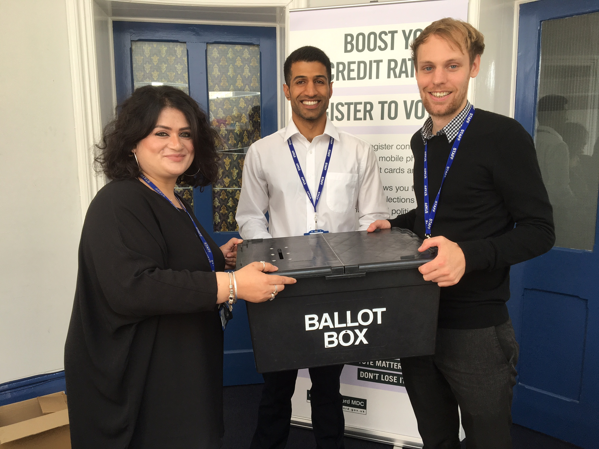 Elections staff