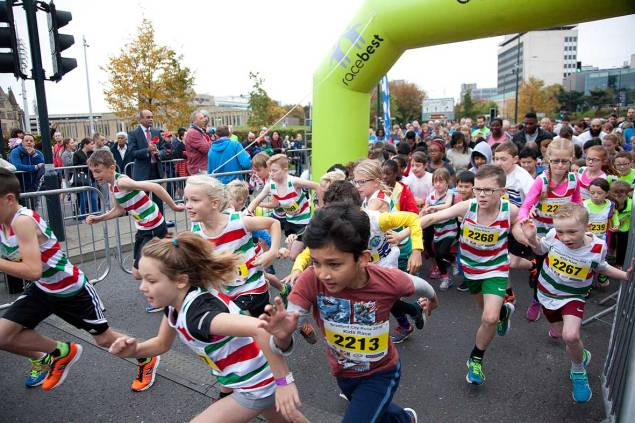 Kids Race - Bradford City Runs 2016